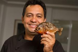 El chef Nelson Méndez